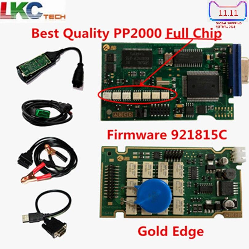 A + Qualität Volle Chip Lexia3 PP2000 PCB Board V7.83 Mit Diagbox Lexia 3 Firmware Serielle No.921815C Diagnose Werkzeug