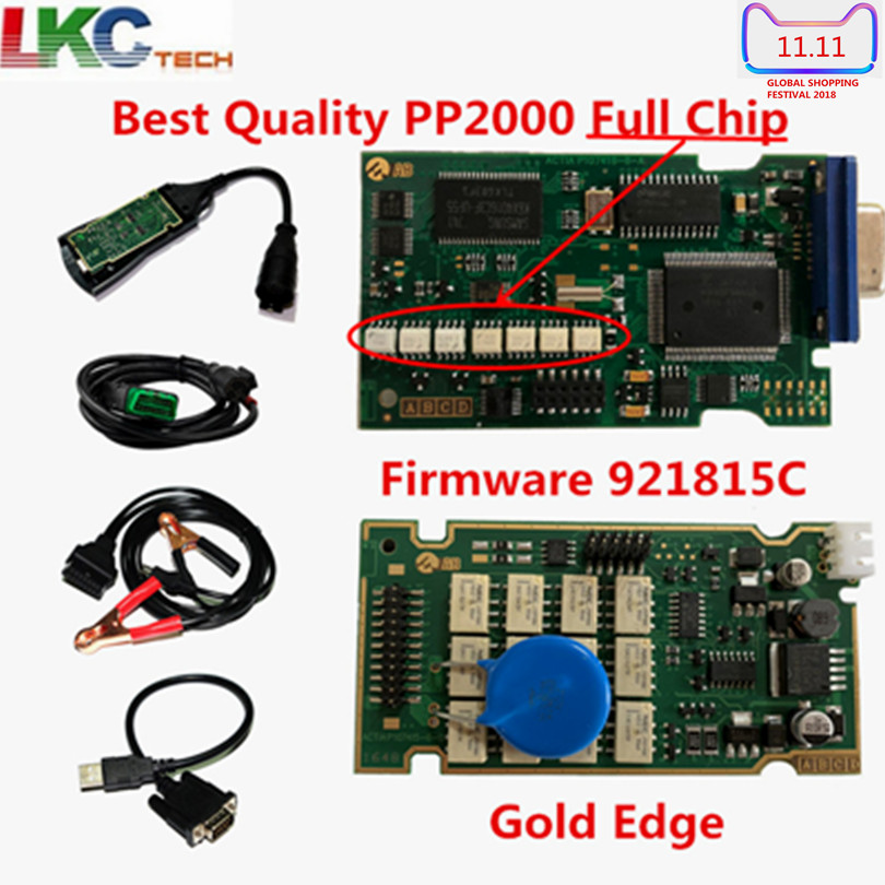 A+Quality Full Chip Lexia3 PP2000 PCB Board V7.83 With Diagbox Lexia 3 Firmware Serial No.921815C Diagnostic Tool цена