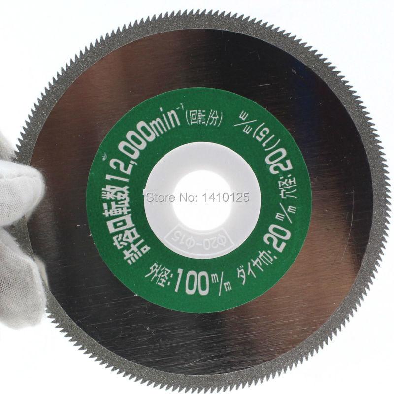 4 hüvelykes galvanizált gyémánt bevonatú fűrészlapok vágókorong 60-as durva durva PVC FRP csőszerelvényekhez