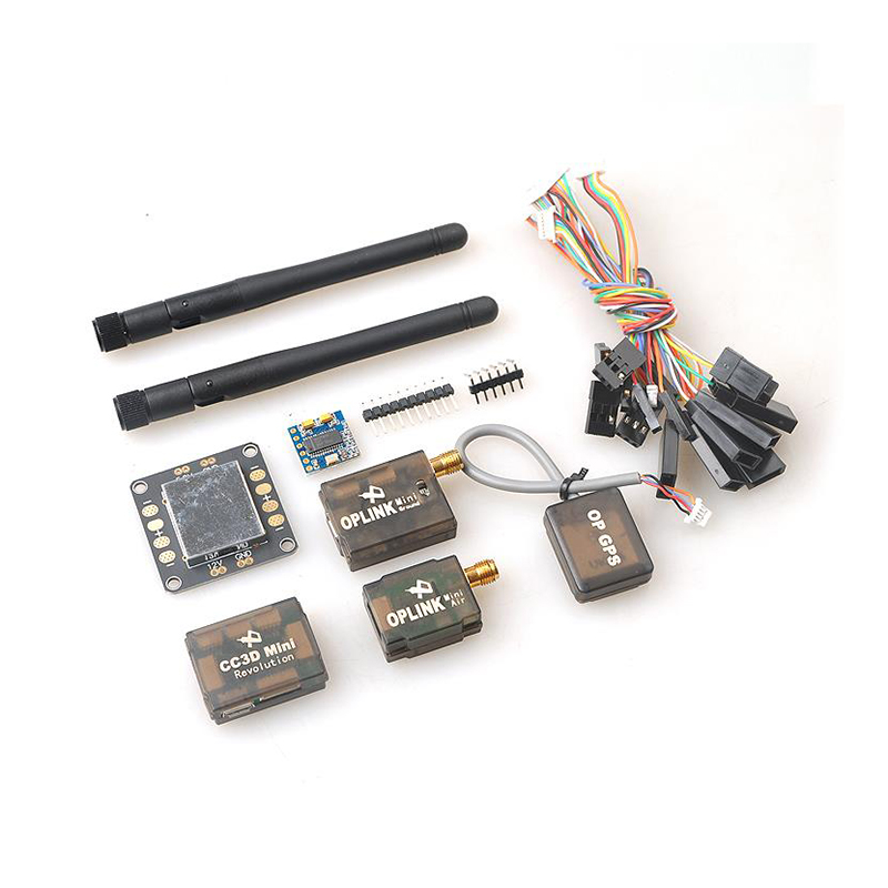 Mini CC3D Combo Set Revolution Flight Controller + OP GPS + OSD + OPlink 433mhz Mini Kit transmission for FPV Drone Airplanes фигурка funko pop television stranger things hopper 9 5 см