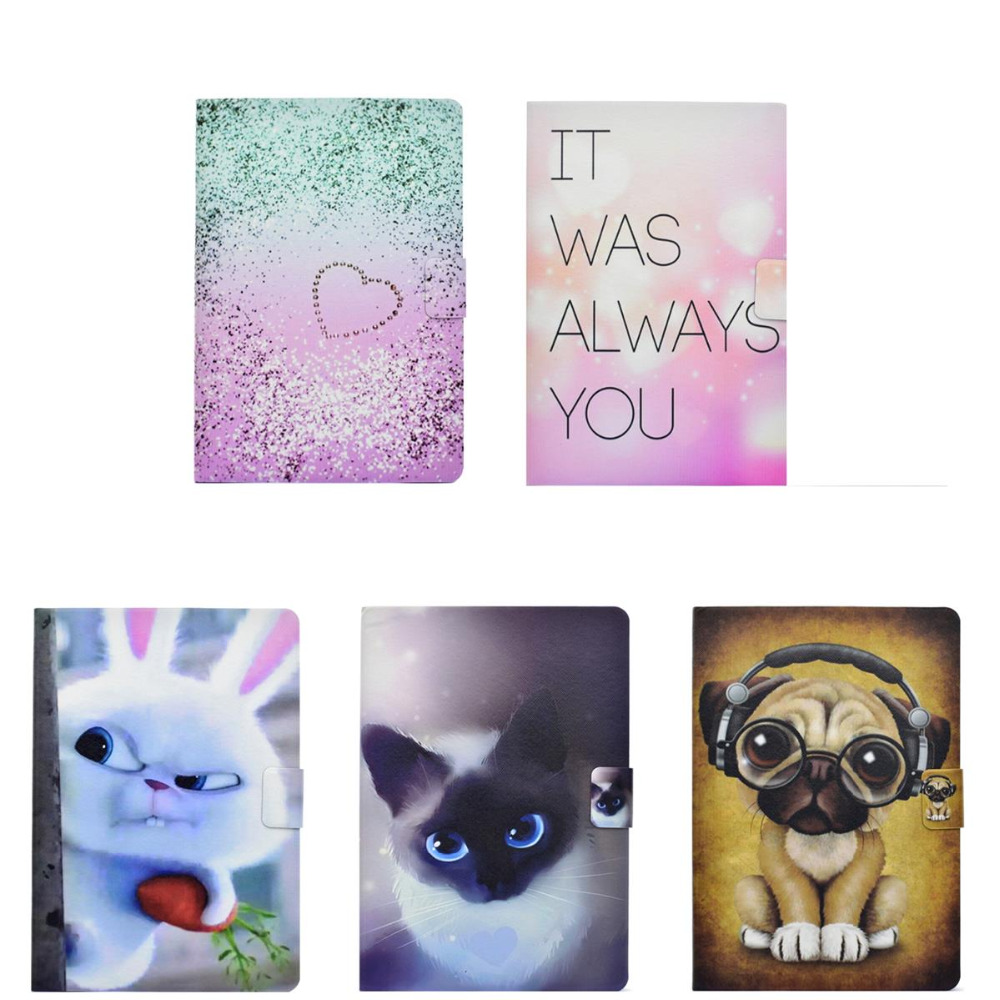TPU Case For iPad mini 1 2 3 Cute Animals Patterned Cartoon Tablet Case For iPad Mini 4 Soft TPU Back Cover Tablet Case