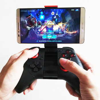 b6f0aca3820 Mocute 054 GamePad inalámbrico Bluetooth juego controlador joystick para  Android/ISO teléfonos mini GamePad para Tablet PC VR Box gafas