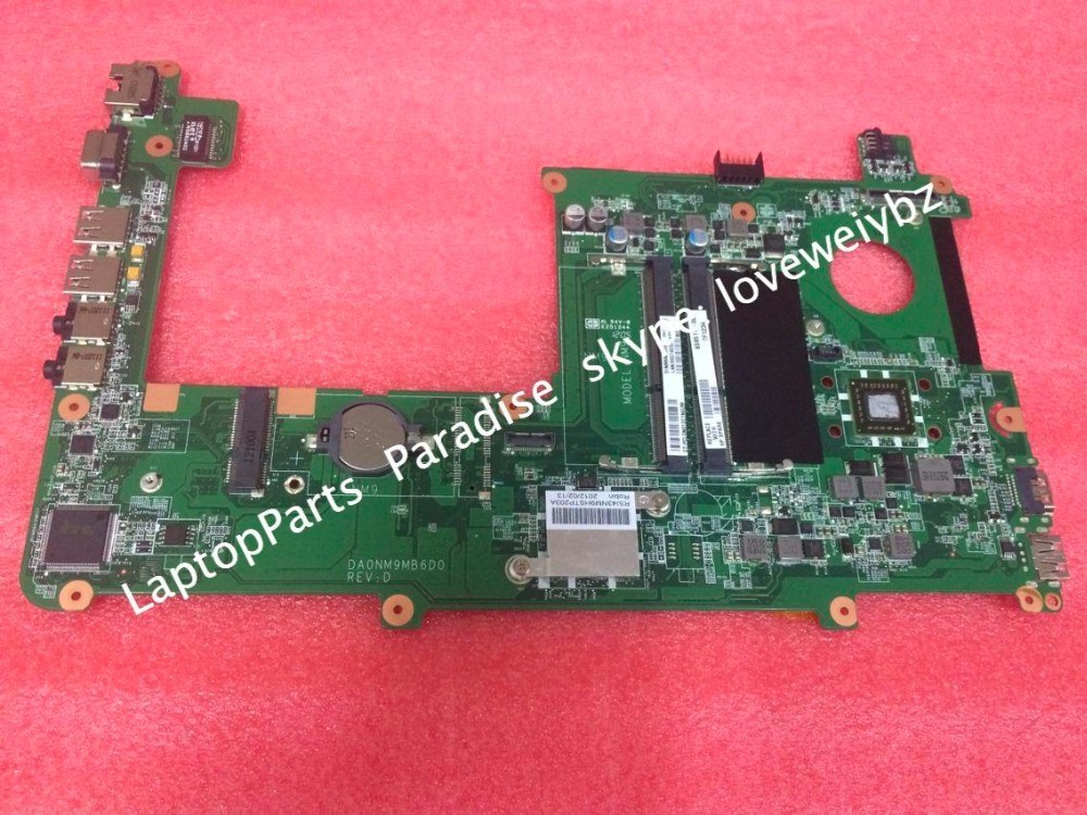 ФОТО Free shipping 659511-001 DA0NM9MB6D0 Mainboard For HP Pavilion DM1 DM1-4000 motherboard with Amd E450 cpu