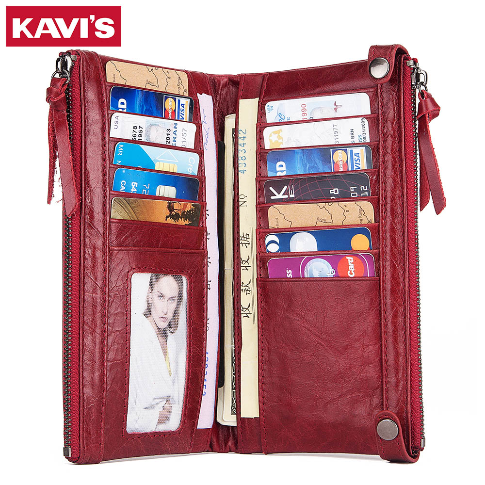 Women Wallet Phone-Bag Coin-Purse Clutch Portomonee Zipper Female Handy High-Quality