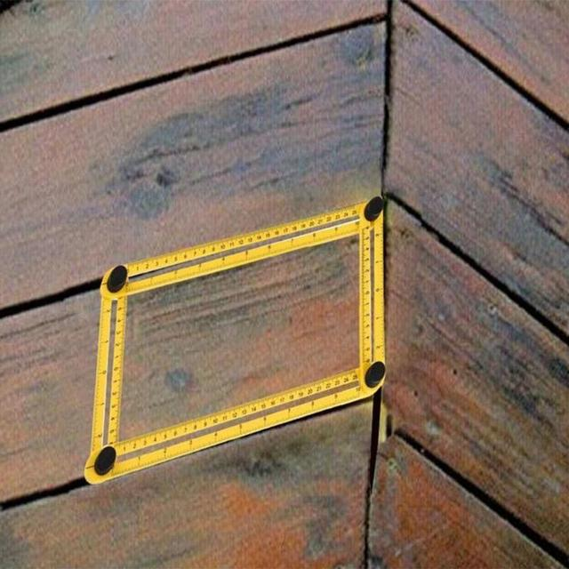 Multi Angle Folding Ruler Protractor