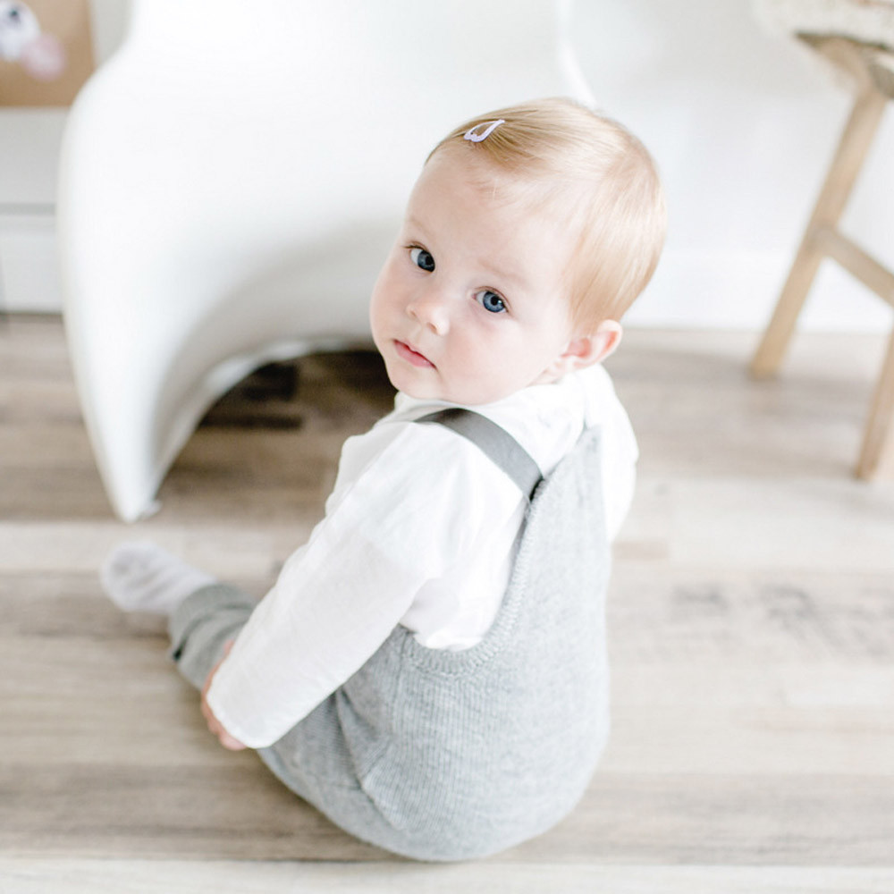 US Toddler Newborn Baby Boys Girls Autumn Cute Fashion Clothes Sleeveless Cotton Solid Knitted Rompers Jumpsuit Outfits Clothes