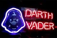 George Lucas Için NEON BURCU Koyu Side Star Wars Darth Vader CAM Tüp BEER BAR BIRAHANE mağaza ekran Dükkanı Işık Işaretleri 17*14