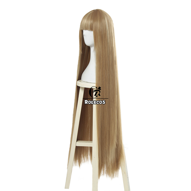 ROLECOS Game LOL Prestige Edition KDA Kaisa Cosplay Hair K/DA Kaisa Long Hair Cosplay Headwear 80cm Synthetic Hair for Women 1