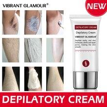 Crème dépilatoire vibrante, épilation rapide sans douleur, aisselles, jambes, soins du corps pour hommes et femmes, 30g