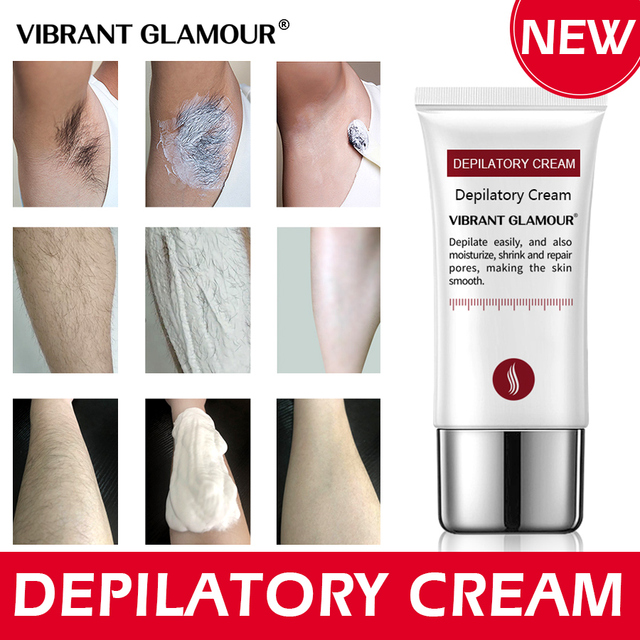 VIBRANT GLAMOUR Fast Hair Removal Cream Painless Depilatory mild Removal Armpit Legs  Hair Body Care for men and women 30g