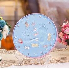Péče o miminko Sušení na vzduchu Měkké modelování Barevná hlína Ruční otisk Otisk Otisk Odlitek Odlitek Rodič-dítě Ruční inkoust Fingerprint