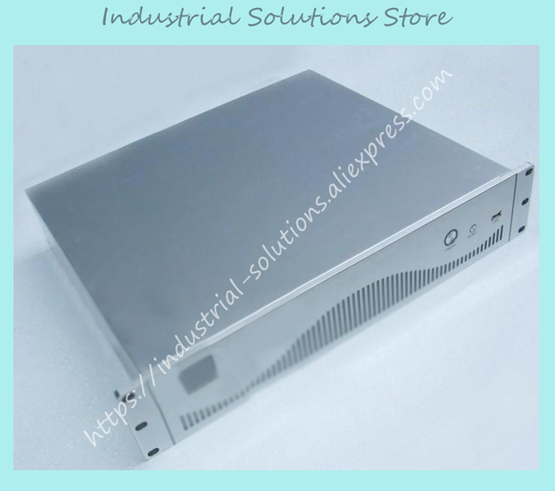 New Quality Aluminum Drawing Panel 2U Computer Case 2U Firewall Computer Case Belt Ethernet Port Built-In Motherboard кольцо calvin klein ck jewelry art