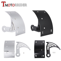 Billet Aluminum Black Chrome Swingarm Side Mount Curve Tail License Plate Holder Bracket for Honda CBR 600 F4 F4i CBR600 F 4