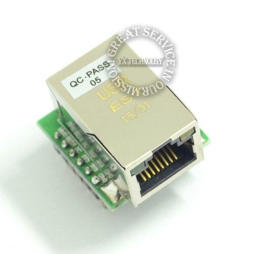 USR-ES1 W5500 Chip New SPI to LAN Ethernet Converter TCPIP Mod GPS