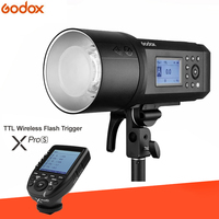 Godox AD600Pro 600Ws TTL HSS Outdoor Flash Li on Battery with Built in 2.4G Wireless X System For SONY A58 A7RII A7II A99 A9 A7R