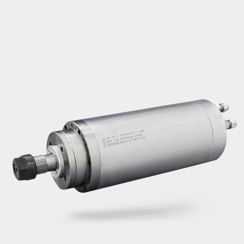 3 2kw water cooling spindle motor 100mm diameter 220v 24000rpm ER20 GDZ 24 1 water cooling