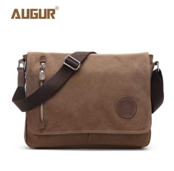 AUGUR new canvas Crossbody Bag Military Army Vintage men and women shoulder Messenger bag Casual Travel school Bags цена 2017