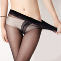 20D Sexy Women Thin Tights High Elastic Solid Stretch Spring Summer Seamless Slimming Leg Pantyhose Stockings Black Nude S5422