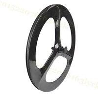 700c 23mm Width 60mm Depth Road Bike 3 Spoke Carbon Wheel Carbon Wheel Road Bike Fixed