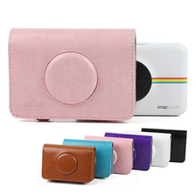 Retro PU Leather Camera Bag Protective Case Cover Pouch Carry Bag for Polaroid Snap Touch Instant Print Digital Camera Accessory(China)