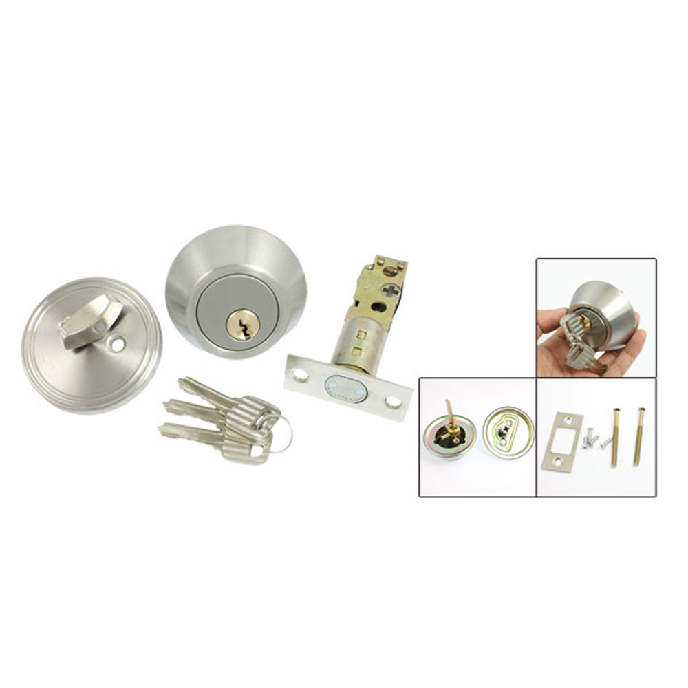 Hot sale in stock Home Door Locking Security Single Cylinder Deadbolt Lock Silver Tone hot in stock s29gl512n10tfi02