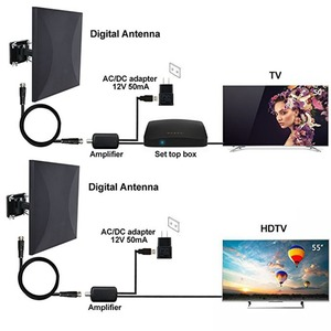 Image 4 - Satxtremเสาอากาศทีวีกลางแจ้งTDT DVB T2 HDTVเสาอากาศทีวีดิจิตอลในร่มDVBT2 เครื่องขยายสัญญาณเสาอากาศHD DVB T2 VHF/UHF