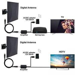 Image 4 - Satxtrem هوائي تلفاز خارجي TDT DVB T2 HDTV التلفزيون الرقمي هوائي داخلي DVBT2 مضخم الهوائي إشارة الداعم HD DVB T2 VHF/UHF