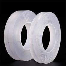 купить 1PCS Multifunctional Nano Gel Pads Double-Sided Anti-Slip Washable Universal Sticker Adhesive Tape дешево