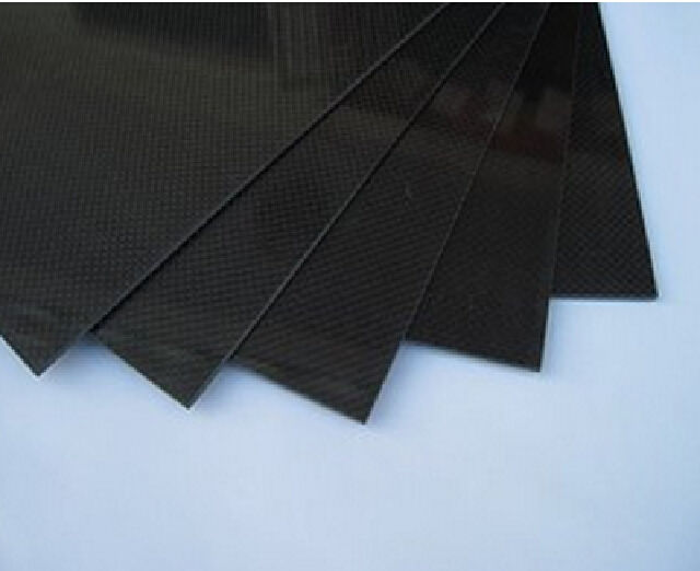300x500x1mm Carbon Fiber Plate Panel Sheet 3K Plain Weave 1pc full carbon fiber board high strength rc carbon fiber plate panel sheet 3k plain weave 7 87x7 87x0 06 balck glossy matte