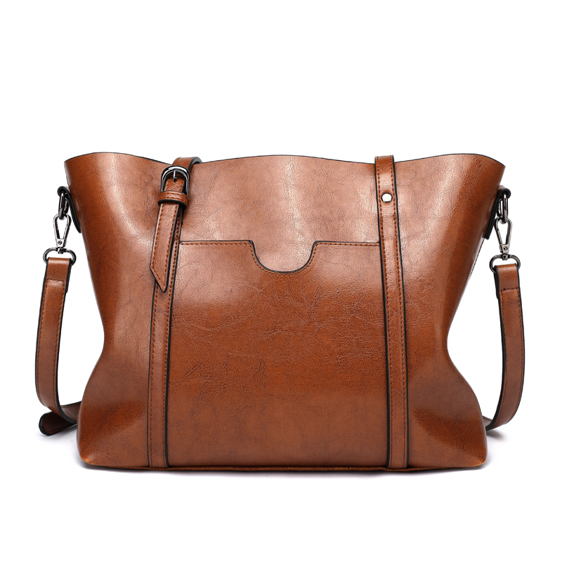 2016 Winter Large Ladies Big Tote Bag High Quality Artificial Leather Bag Women Handbag Black Brown OL Work Bag Shopper Bag high quality authentic famous polo golf double clothing bag men travel golf shoes bag custom handbag large capacity45 26 34 cm