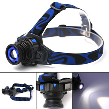 1000 Lumens Q5 3 Modes LED Rechargeable Head Lamp Waterproof Headlight Zoomable Head Light Lantern Spotlight For Hunting