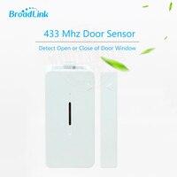 Broadlink s1c sensor da porta 433 mhz se conectar sem fio porta janela magnet sensor detector de entrada para o sistema de alarme de segurança casa inteligente