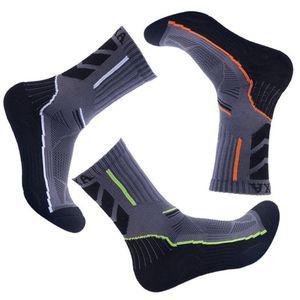 Image 2 - Men Sports Socks Male Socks Quick Dry Breathable Absorb Sweat Antibacterial Summer Winter Training Socks New