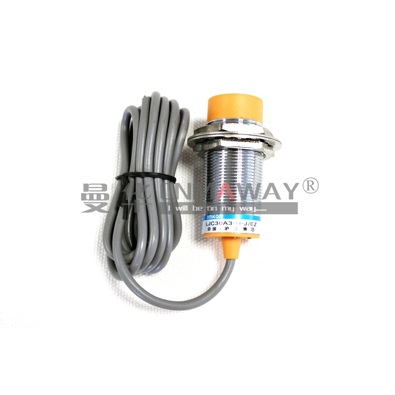30MM Capacitive proximity sensor switch NO PNP 25MM Detection distance LJC30A3-H-Z/BY 3-WIRE DC6-36V+mounting bracket lj18a3 8 z by 8mm detection pnp no inductive proximity sensor switch