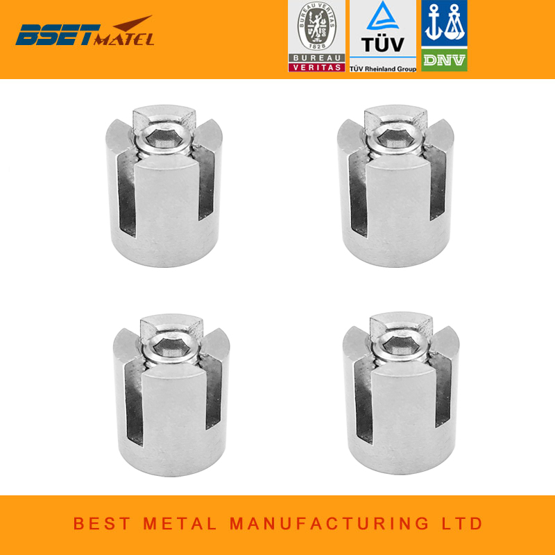 Boat Parts & Accessories Best Matel 90 Degree Angles 3mm Marine Grade Stainless Steel 316 Wire Rope Trellis Systems Green Wall Cross Clip Rope Clamp