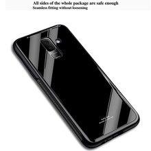 Чехол из закаленного стекла для Samsung Galaxy A6 A8 Plus 2018 A8 A9 Star Lite, Жесткий Чехол из поликарбоната для Samsung Note 8 9 A6S A7 A9 2018