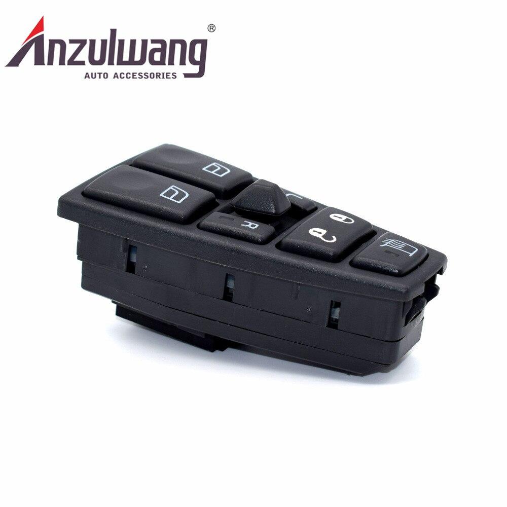ANZULWANG 20752918 interrupteur de commande principal de régulateur de lève-vitre électrique pour Volvo FH12 FM9 FM12 FH16 Lastbil VN VNL VNM FMX