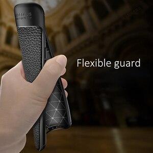 Image 5 - Schokbestendig Case Voor Huawei Mate 20 Pro Case Lederen Textuur Tpu Zachte Beschermende Bumper Rubber Mat Cover Voor Huawei Mate 20