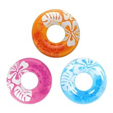 Shell Swimming Ring Inflatable Floats pool Hibiscus Swimming Float For Adult Floats inflatable donut Swim Ring Water Sports Toy(China)