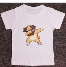 Boy's Dabbing Dog Printed T-Shirts