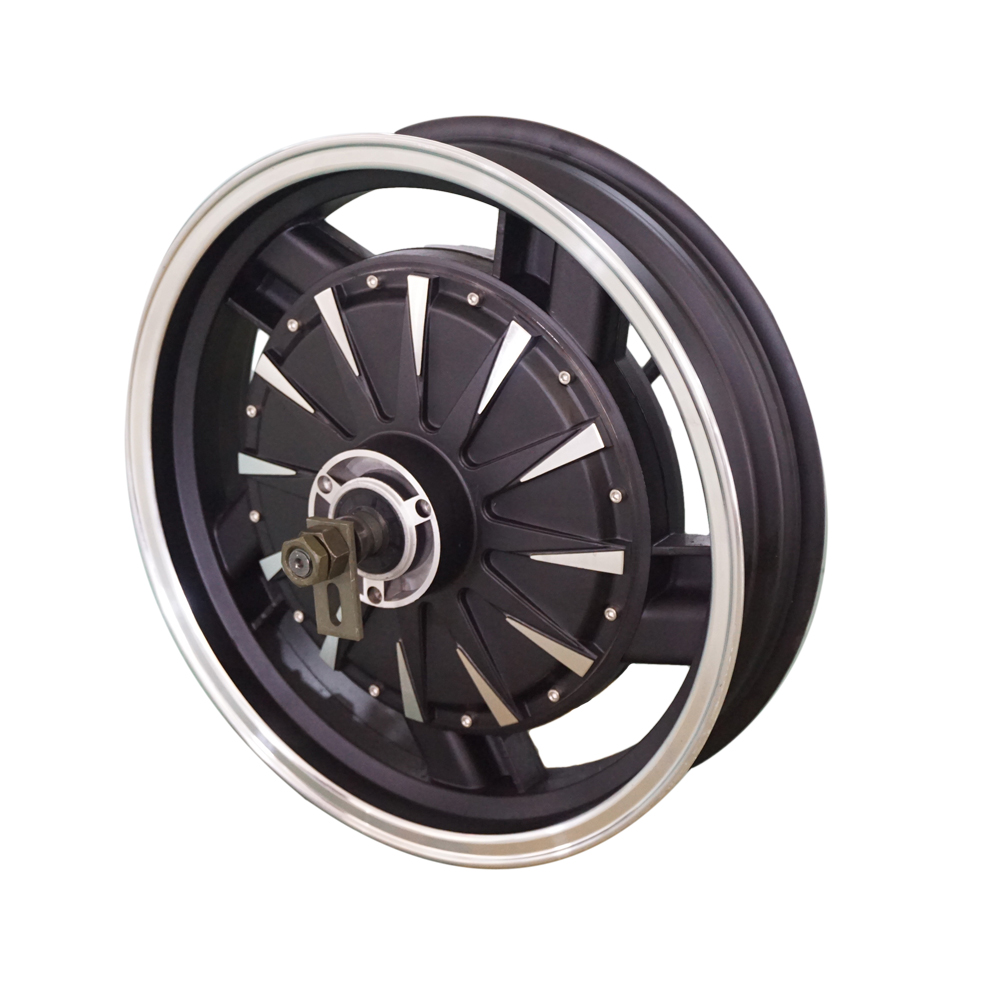 <font><b>QS</b></font> <font><b>Motor</b></font> 16inch <font><b>5000W</b></font> 260 45H V4 Brushless DC Electric Scooter Motorcycle Hub <font><b>Motor</b></font> image