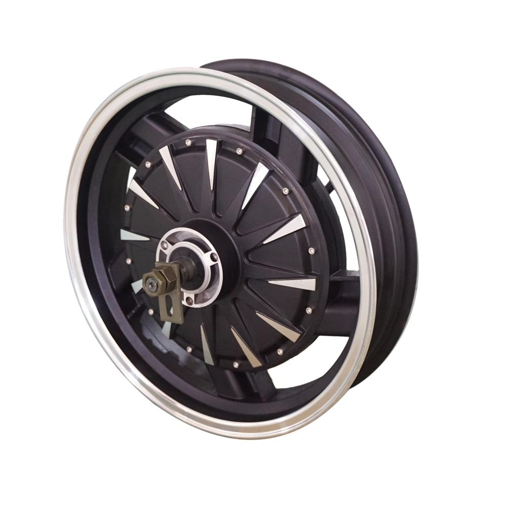 Cost-effective QS Motor 16*3.5inch 48V50KPH 3000W 260 40H V1.12 E-Motorcycle Wheel Hub Motor