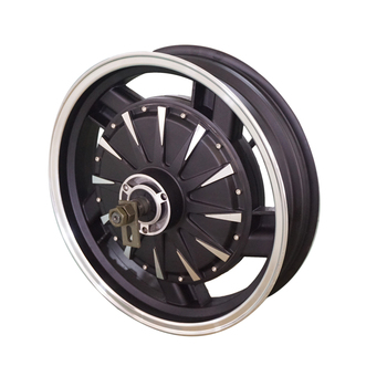 QS 16inch 1.5kW V1.12 version 30H 72V60KPH In-Wheel Hub Motor for Electric Motorcycle