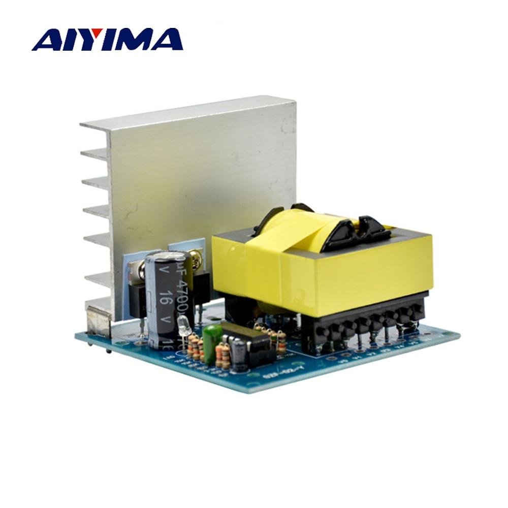 Aiyima DC AC Converter 12V to 220V 380V 18V AC 500W Inverter Board Pre booster module