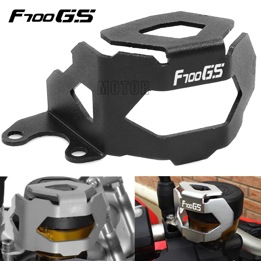 For BMW F700GS/F800GS 2013-2018 F800/F700 F 800/<font><b>700</b></font> <font><b>GS</b></font> Motorcycle Front Brake Fluid Tank Reservoir Oil Cup Guard Cover Protector image