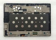 Putih/Coklat LCD Display Modul + Touch Panel Layar Monitor Digitizer Perakitan dengan Bingkai Untuk Samsung GALAXY Tab S T800 T805