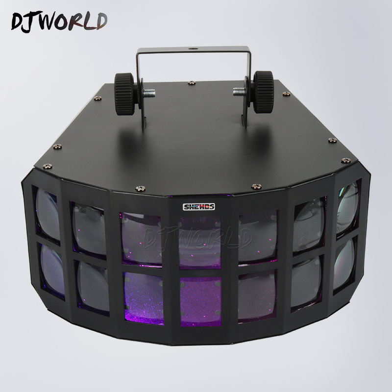 LED Beam 30W RGBW Butterfly DMX512 Stage Effect Light Good For DJ Disco Parties Dance Floor Nightclub KTV Wedding DecorationLED Beam 30W RGBW Butterfly DMX512 Stage Effect Light Good For DJ Disco Parties Dance Floor Nightclub KTV Wedding Decoration