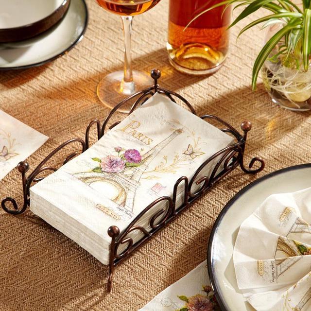 Guest Towel Napkins-15pcs 40x33cm 3-ply printed paper napkins white wedding serviettes for & Aliexpress.com : Buy Guest Towel Napkins 15pcs 40x33cm 3 ply printed ...