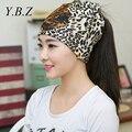 Leopard sombreros Que Hacen Punto Gorros Sombreros Ocasionales para Los Hombres de Las Mujeres Sombreros de Invierno Skullies Primavera Gorro 3 uso Babero Tocado