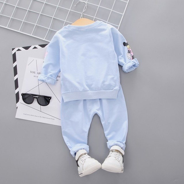 New Casual Sports T-shirt Pants 2pcs/Set Outfit Tracksuits 2